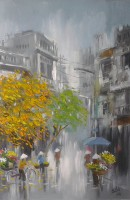 Nguyen Luu, After Rain - ArtOfHanoi.com