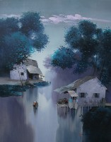 Dang Can, Early Morning - ArtOfHanoi.com
